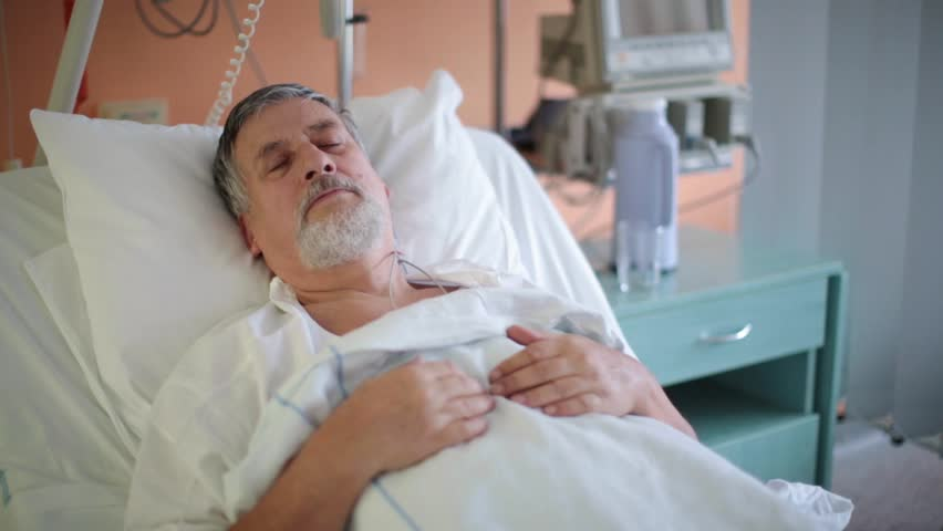 Patient In Hospital Bed Sleeping Images & Pictures - Becuo