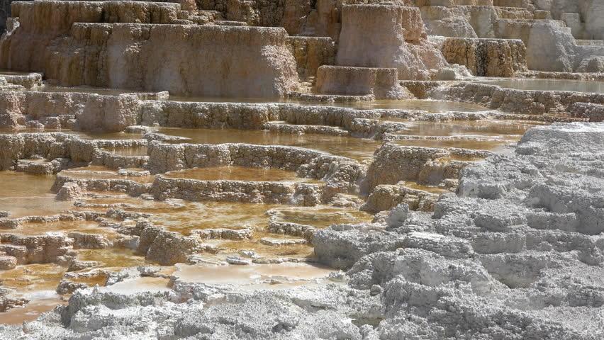 Yellowstone wyoming jun 2015 mammoth hot springs for Minerva terrace yellowstone