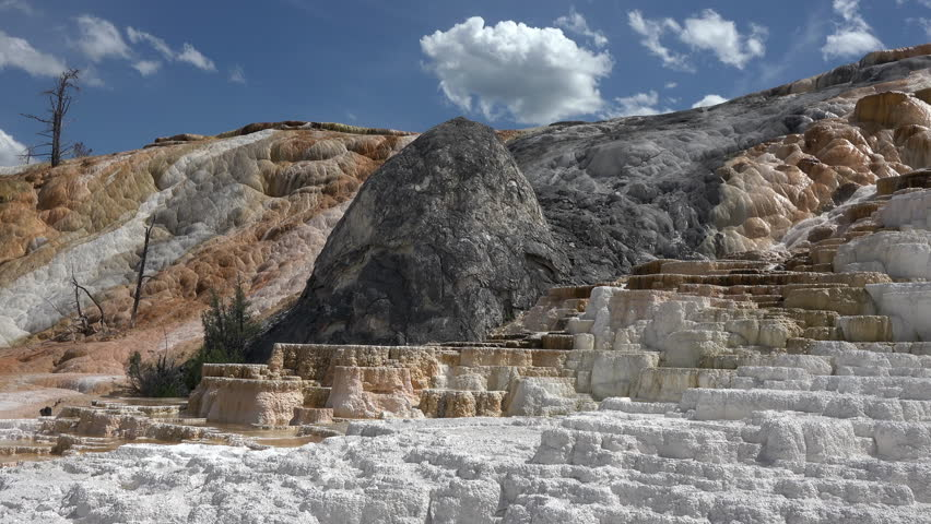 Yellowstone national park wyoming mammoth hot springs for Minerva terrace yellowstone
