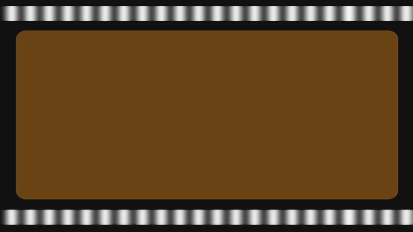 Filmstrip Looping, Sepia Tone (Cinema Classic Motion Background). Looping filmstrip motion background, sepia, ideal for keying. Classic and vintage filmmaking logo.