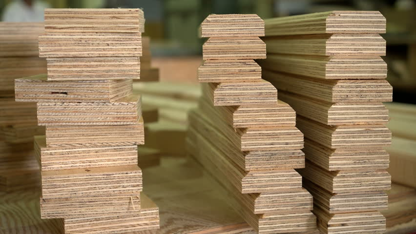small pieces of wood laying on a table in a carpenter 39 s workshop stock footage video 11294966. Black Bedroom Furniture Sets. Home Design Ideas