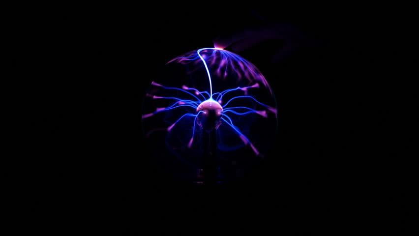 Tesla Coil - Touching Electrical Plasma