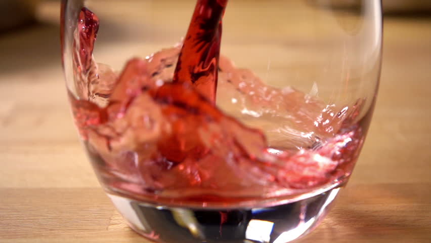 Pouring Cranberry Juice Stock Footage video 3126148 - Shutterstock