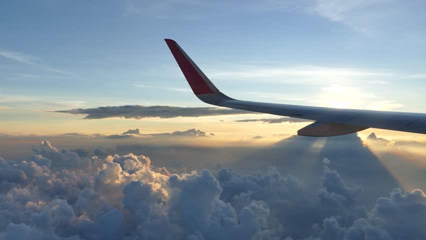 Header of Airplane Landing