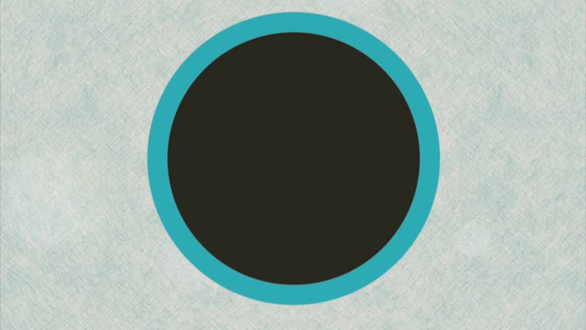 Circle over blue background, Video Animation HD1080