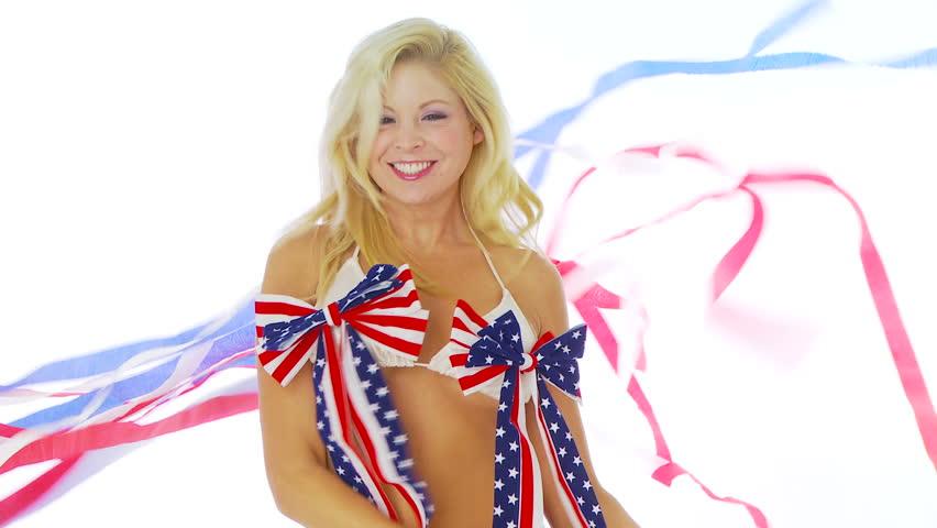 Patriotic Bikini 112
