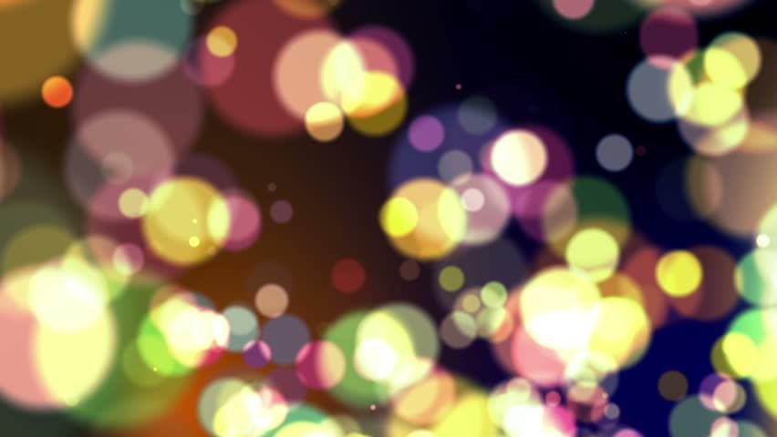 Defocused Abstract Background - Macro Shot - Colors