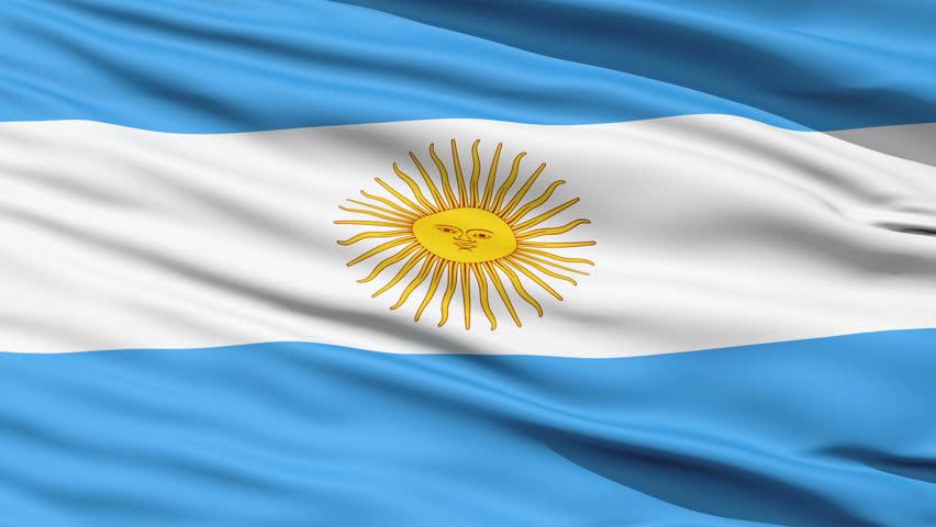 blue a flag along with green sun