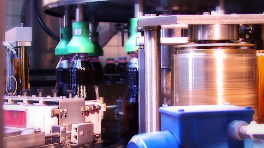 Juice bottles manufacturing