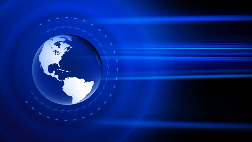 globe news background, seamless loop, HD1080p - HD stock video clip