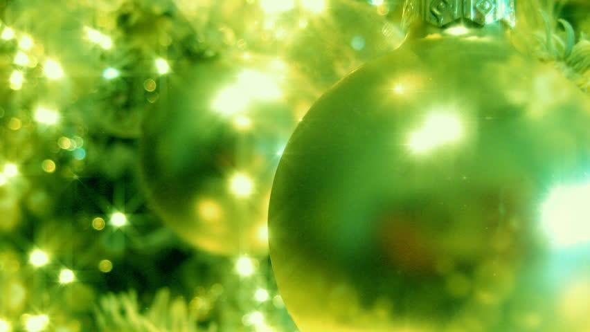 Green Christmas Tree HD Loop - HD stock footage clip