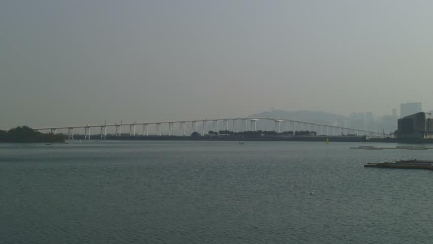 Sai Van Bridge in Macau, China