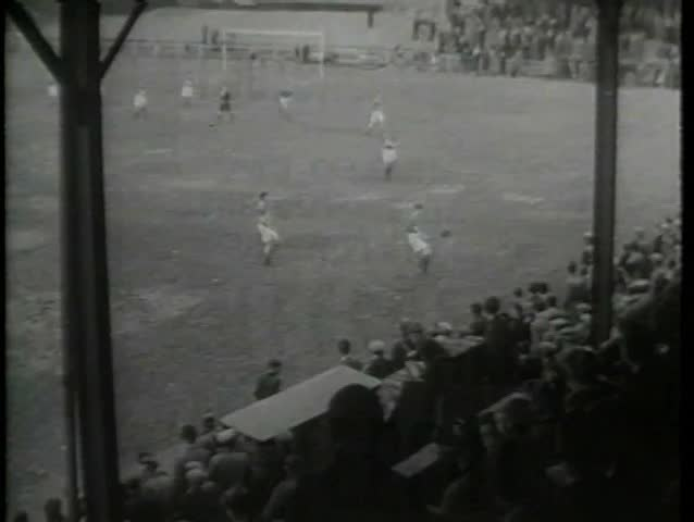 Montage - 1930s soccer game