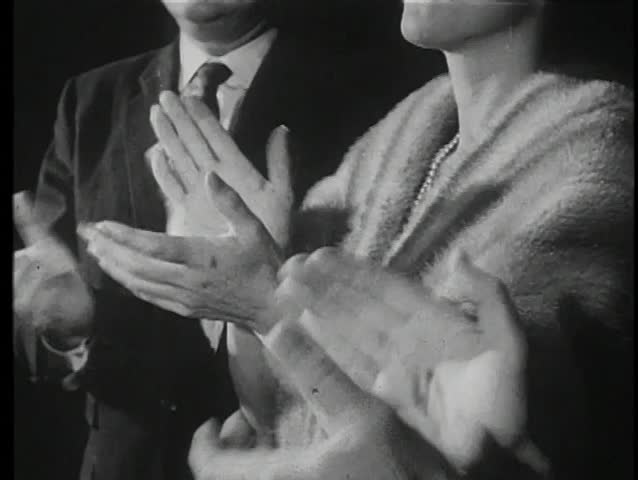 Medium shot of hands clapping
