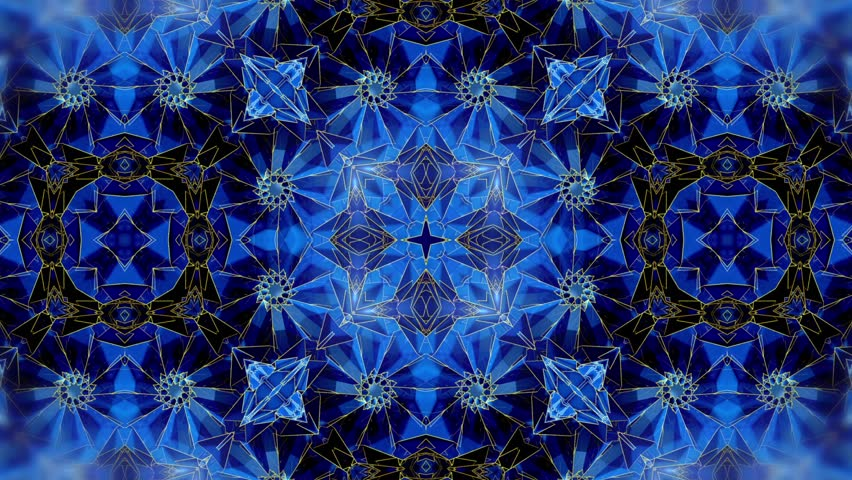Blue - Circular Step - Many and Rotate