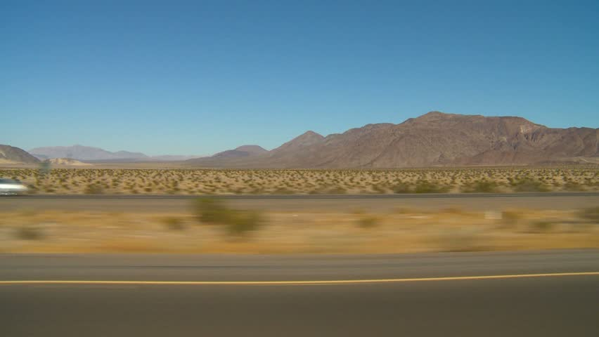 drive plate, in the desert with no traffic
