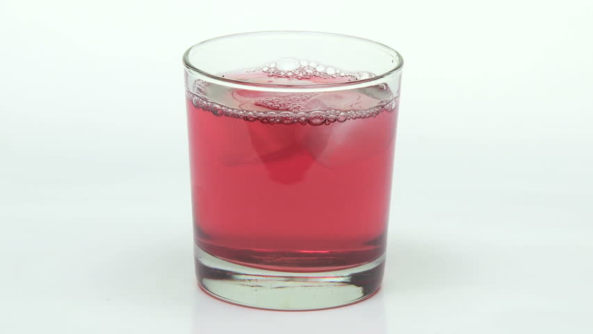 Cranberry Juice With Ice, Close Up Stock Footage video 1963810 - Shutterstock