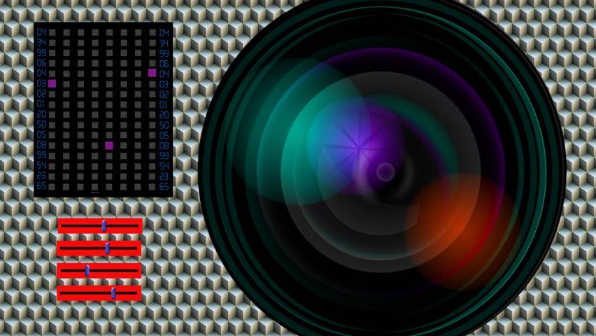 Spy Camera Lens - HD stock video clip