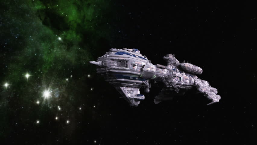 Space Ship Stock Footage Video 2104985 Shutterstock