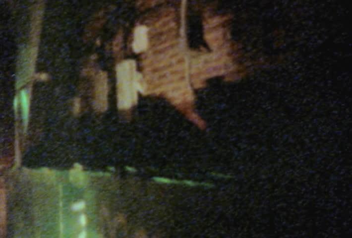 Dark alleyway