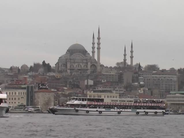 Coastline In Bebek, Istanbul Stock Footage Video 505834 ...