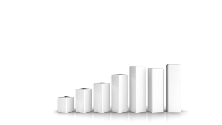 Business chart - success in business - HD stock footage clip