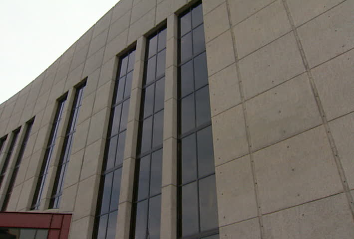 NASHVILLE - Circa 2002: Facade of the Country Music Hall of Fame and Museum in Nashville in 2002. - SD stock video clip