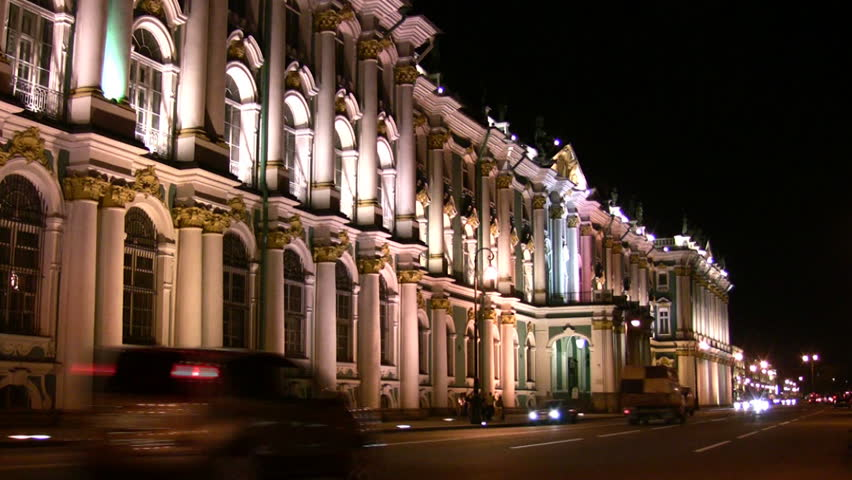 Petersburg Hermitage   - HD stock footage clip