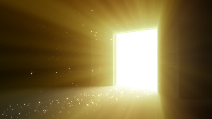 Door opening stock footage video 2496044 shutterstock for Door with light