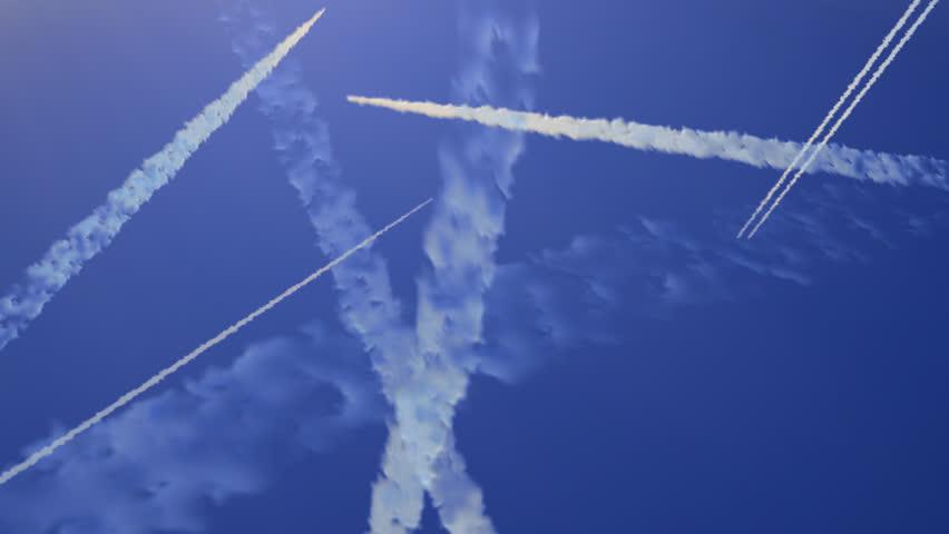 Busy sky