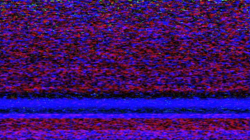 tv static noise avi  movie