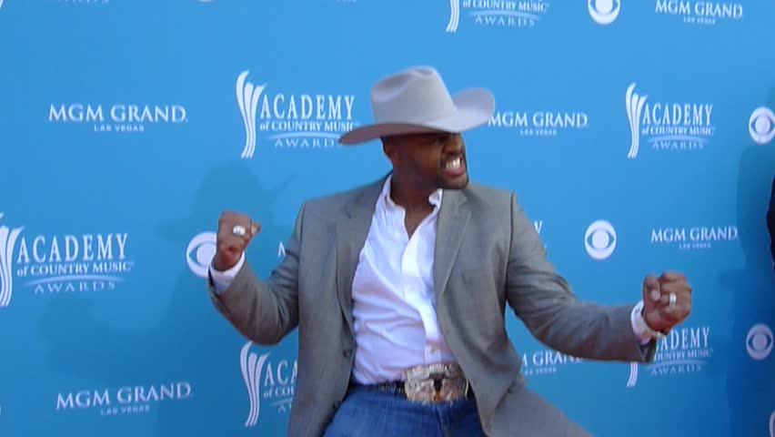 LAS VEGAS - APRIL 18: Country singer Cowboy Troy poses at the 45th Annual Academy Of Country Music Awards at MGM Grand Garden Arena on April 18, 2010 in Las Vegas, Nevada - HD stock video clip