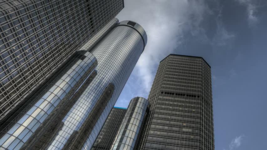 Detroit usa nov 7 2011 hdr timelapse detroit 39 s for General motors corporate office