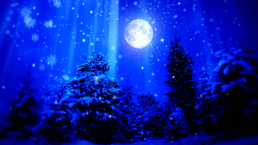 """New Year Snow Christmas and Moon ( Series 3 - Version from 1 to 12 )+"""" Thing Different """"+"""" You can find every week new Footage """"+"""" Have a look at the other Footage series """" + [ Merry Christmas, 2013 ]"""