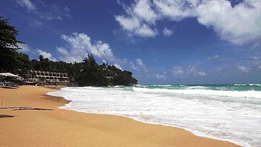 Exotic beach. Thailand, Phuket