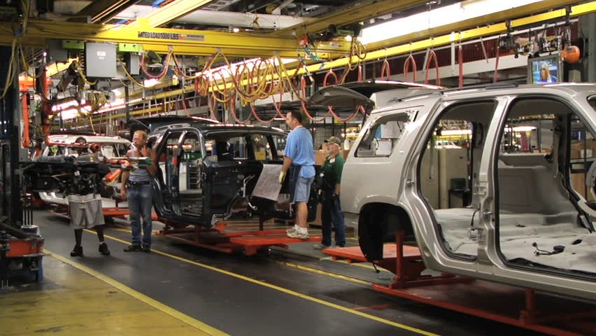at the general motors assembly plant in arlington texas august 2007. Cars Review. Best American Auto & Cars Review