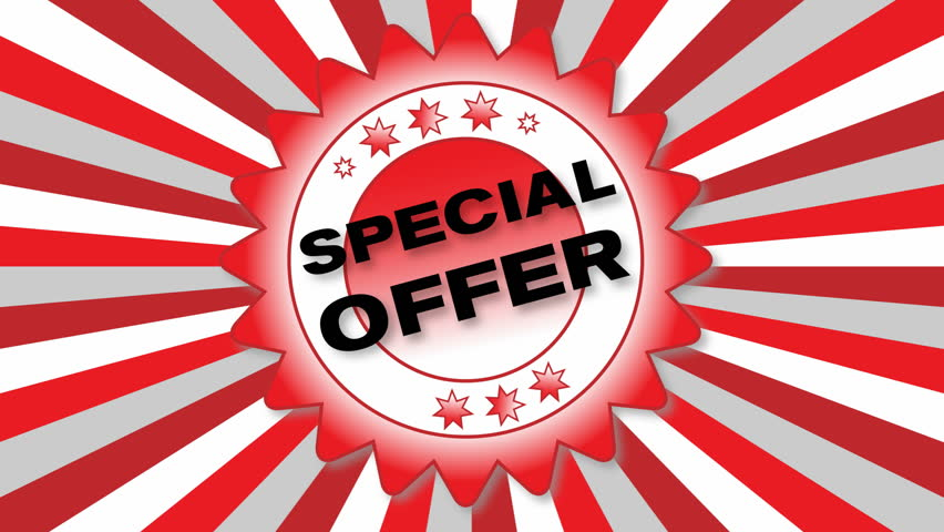 Animated Button – Special Offer