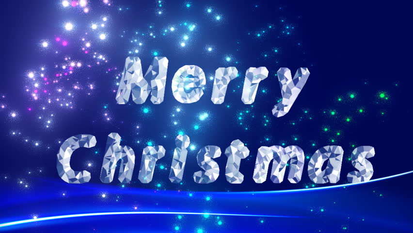 Christmas background. - HD stock footage clip