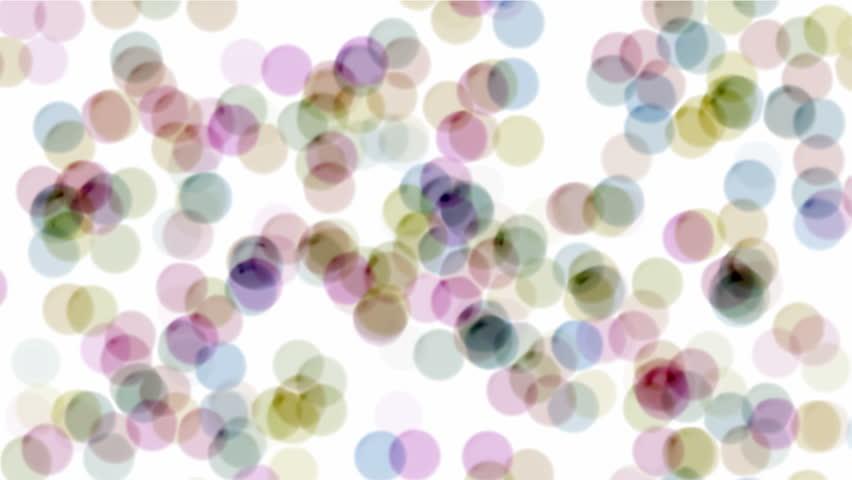 color dance circle,dots