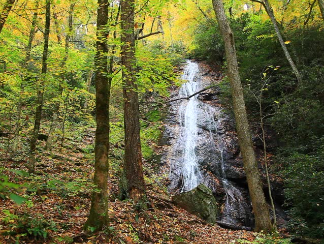 Rufus morgan falls in north carolina stock footage video for Morgan falls