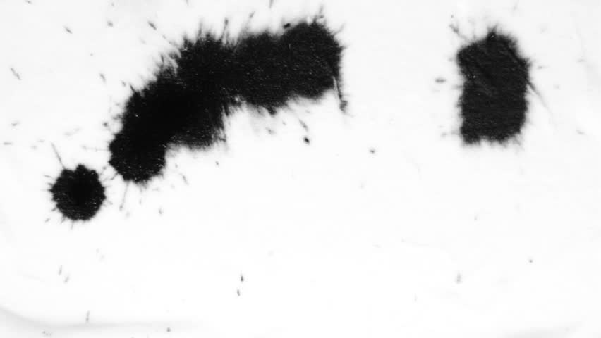 Ink drops on white. Perfect for transitions/Ink drops/Splatter
