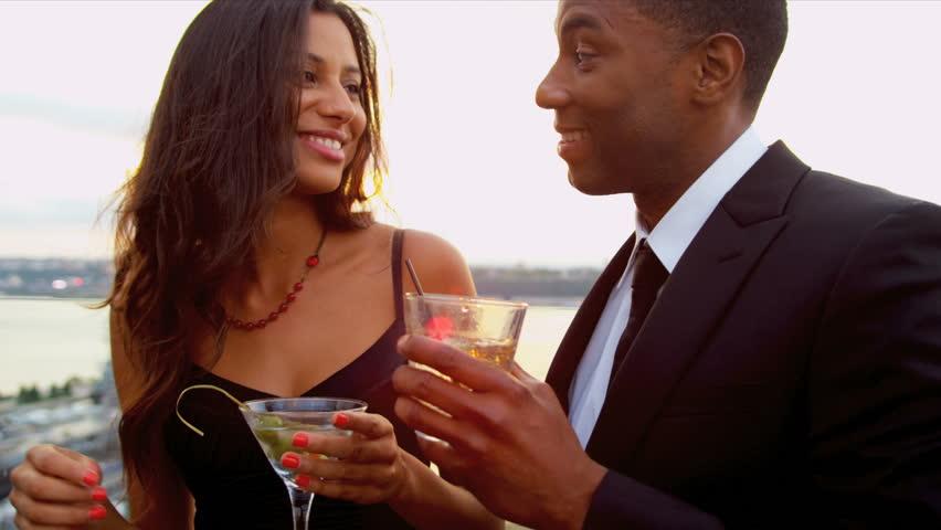 Black man dating a hispanic woman