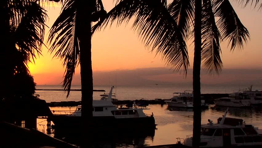 Sunset in Manila Bay, Philippines