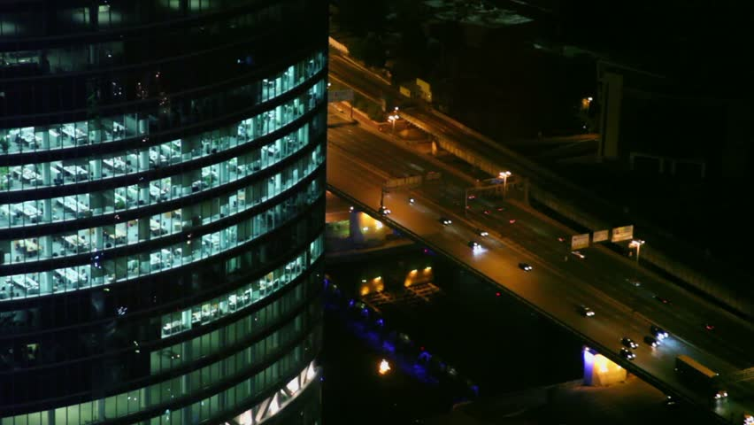 building on night time - photo #37