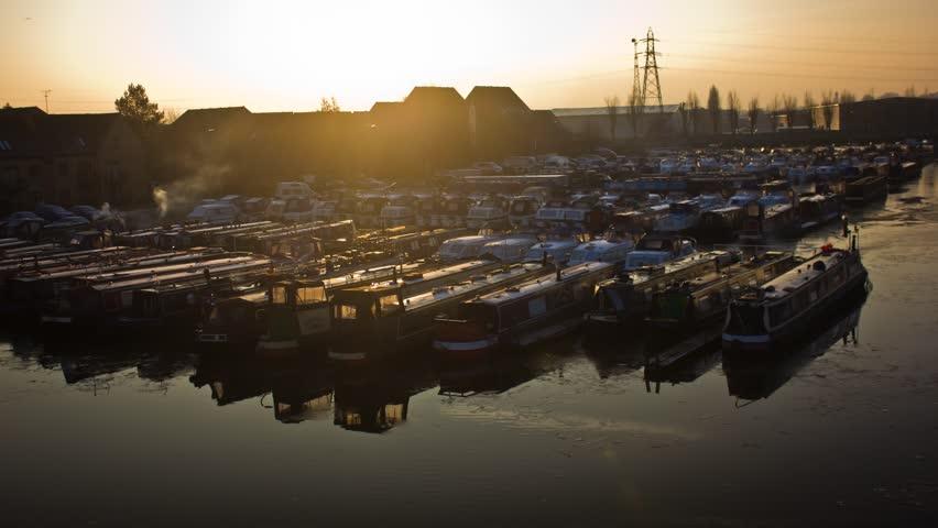 Longboat Marina Sunset Timelapse
