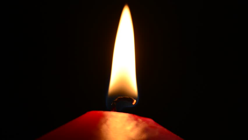 red candle black background - photo #14