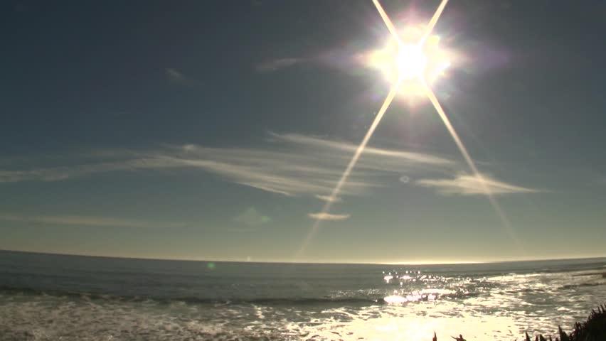 Ocean View at Natural Bridges State Beach Time-Lapse 2