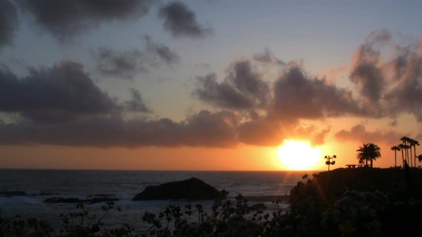 Sunset in Laguna Beach Time-Lapse