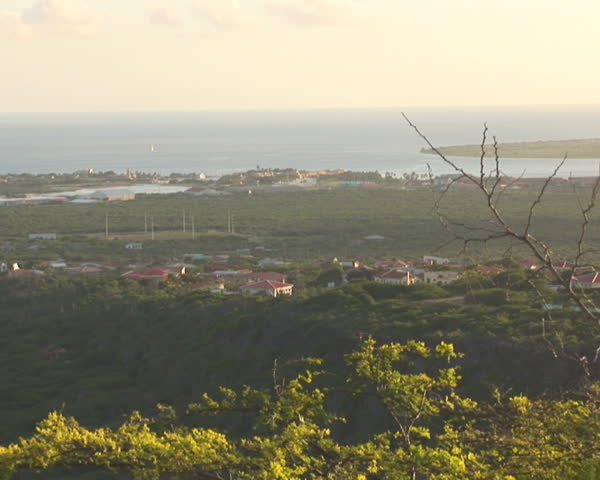 PAL: Bonaire overview - SD stock footage clip