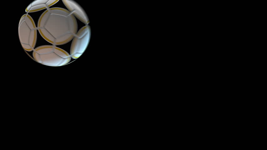 3 very useful 3D SOCCER BALL transitions to wipe from source a to source b, Ideal for sport shows, sport news, FOOTBALL related projects. Transitions can be flipped to create variety. Alpha matte incl